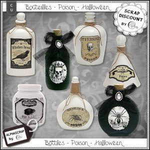 Bottles - Poison - Halloween 1