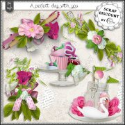 A perfect day with you - embellissements