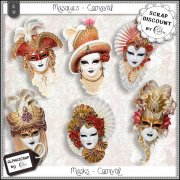 Masques - carnaval 2