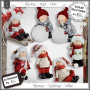 Figurines - Christmas - Winter 4
