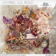 Autumnal flea market - full size kit PU/S4H