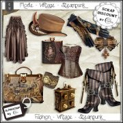 Fashion - Accessories - Vintage - Steampunk 1