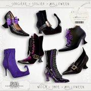Witch - Shoe - Halloween