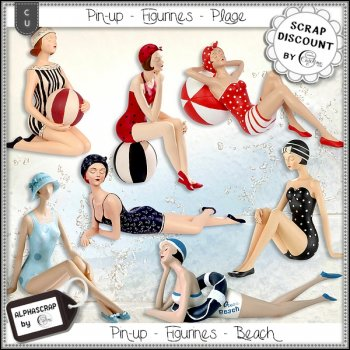 Pin-up - Figurines - Plage