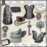 Fashion - Accessories - Vintage - Steampunk 11