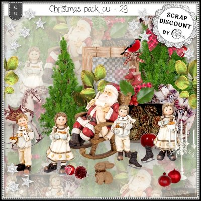 Christmas pack CU - 29