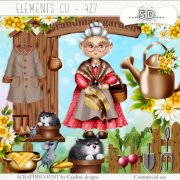Elements cu - 427 Grandma's garden 2