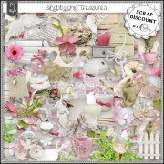 Shabby-chic treasures PU-S4H full size kit
