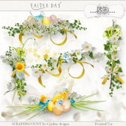 Easter day - embellishments