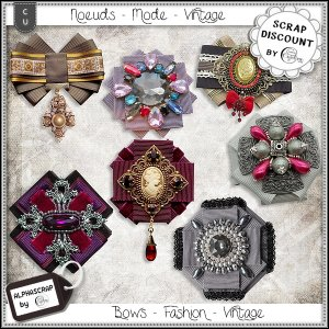 Bows - Fashion - Vintage 4