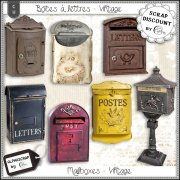 Mailboxes - Vintage 3