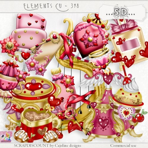 Elements cu - 398 Saint-Valentin