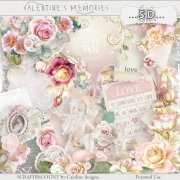 Valentine's memories - full size kit PU/S4H
