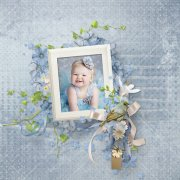 A little blue song - kit full size PU/S4H