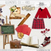Elements cu - 480 Vintage back to school