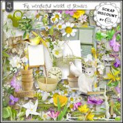 The wonderful world of flowers PU-S4H full size kit