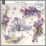 Purple dreams - embellishments