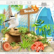 Elements cu - 468 Vers la plage