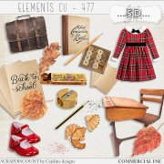 Elements cu - 477 Vintage back to school