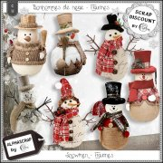Snowmen - Christmas - Figurines 3