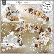 Winter delices - embellissements