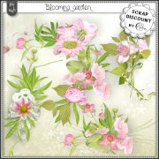 Blooming garden - embellishments