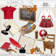 Elements cu - 476 Vintage back to school
