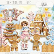 Elements cu - 496 A sweet Christmas