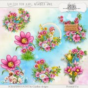 Easter for kids number one - embellishments