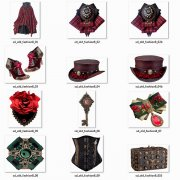 Fashion - Accessories - Vintage - Steampunk 8