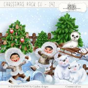 Christmas pack cu - 142 Christmas at the North Pole