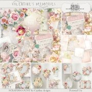 Valentine's memories - quick pages