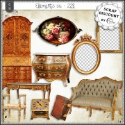 Elements CU - 228 Ameublement baroque et rococo