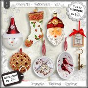 Ornaments - Traditional - Christmas 2