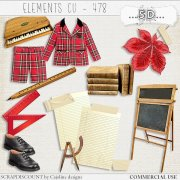 Elements cu - 478 Vintage back to school