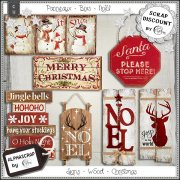 Signs - Wood - Christmas 1