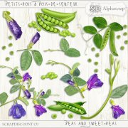 Peas- Sweet peas - Flowers - Vegetables