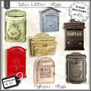 Mailboxes - Vintage 2