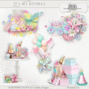 It's my birthday - embellishments