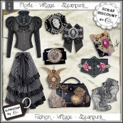 Fashion - Accessories - Vintage - Steampunk 7
