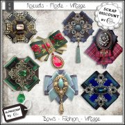 Bows - Fashion - Vintage 5