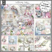 Welcome baby - embellishments