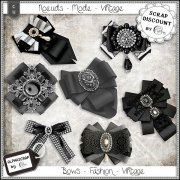 Bows - Fashion - Vintage 1