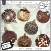 Ornaments - Balls - Christmas 6