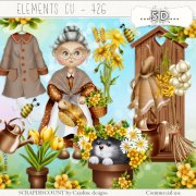 Elements cu - 426 Grandma's garden 1