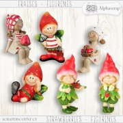 Strawberries- Figurines 1