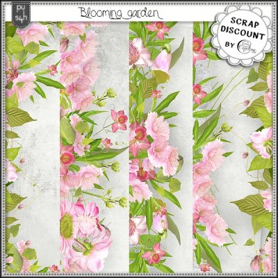 Blooming garden - borders