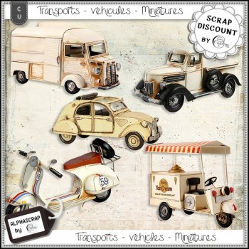 Véhicules - Transports - Miniatures 3
