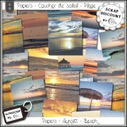 Papiers - Sunset - Beach