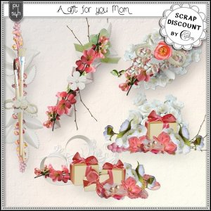 A gift for you Mom - embellishments